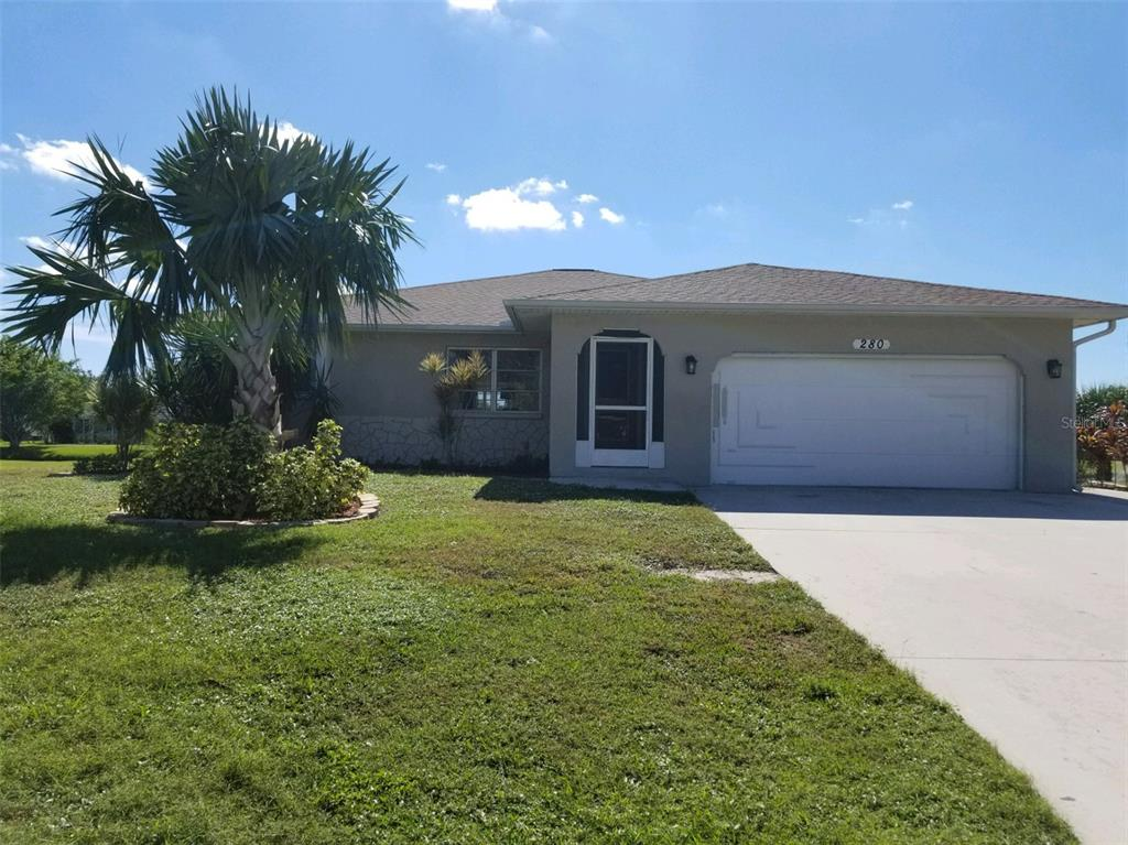 Check out this updated pool home in the golf community of Rotonda West. The home sits on a freshwater canal and has a wooden dock that was replaced in 2020. The home has been used as a vacation rental and is rented until the end of March (November-$1,800, December-$2,100 and Jan-March - $3,600/month) and is turn key. Many updates have been done to this home. Looking for an investment? Or a place to call home? This is the place!