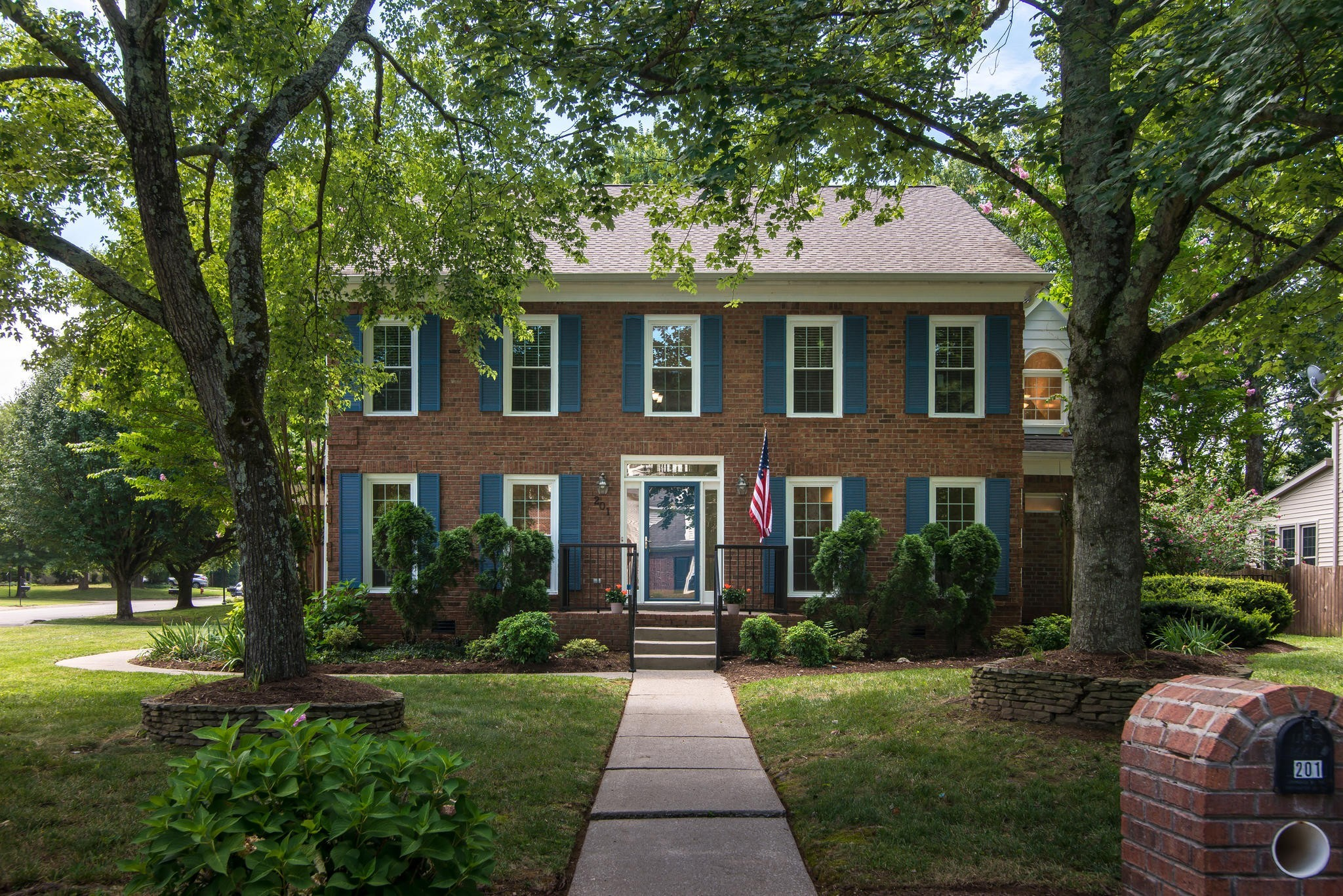 New roof, new gutters and downspouts, new gas furnace, new windows, fresh paint, remodeled master bath and kitchen and custom master closet. Home is huge and could easily accommodate two home offices, homeschool room and more.