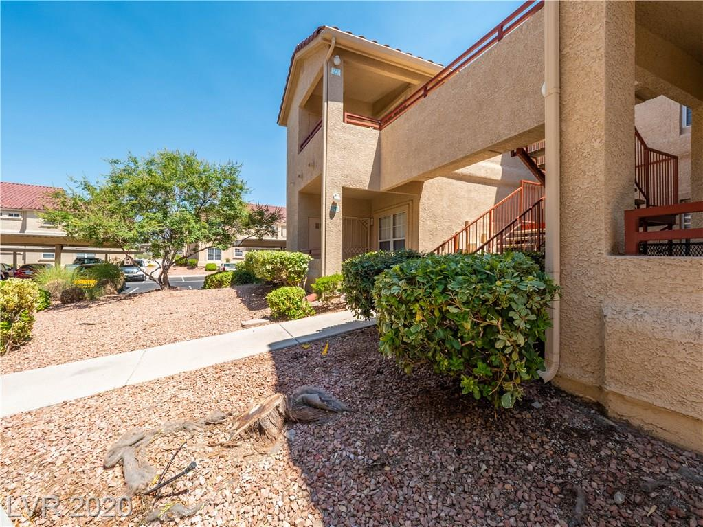 Adorable second floor 2 bedroom condo conveniently located in the front of the complex and close to the amenities! Condo features brand new engineered wood floors throughout, new baseboards, fresh paint, new light fixtures, extra cabinets added in laundry, large balcony and lush grounds with community amenities including pool, spa, BBQ area!