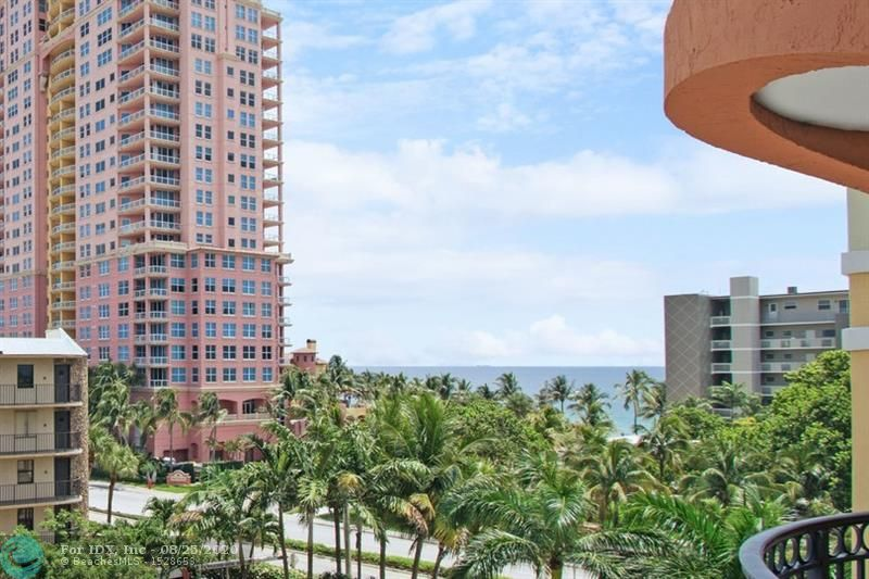 Built in 2005 just across from Ft Lauderdale Beach The Vue condominium offers beautiful views of the ocean and features as one of its amenities an oceanfront beach club . Two 16 story towers with a central courtyard featuring a pool at the buildings and a 2nd pool at the private beach clubhouse. This unit boasts a beautiful ocean view, two balconies, one wrapping around the master bedroom and living room and a second private to the guest bedroom. Beautifully maintained, this condo represents the best deal in the Vue. Come see the beautiful lobby that just received a great update. 24 hour valet, exercise facility, community room. Centrally located to the Ft Lauderdale Beach entertainment district, and many new attractions being build nearby.