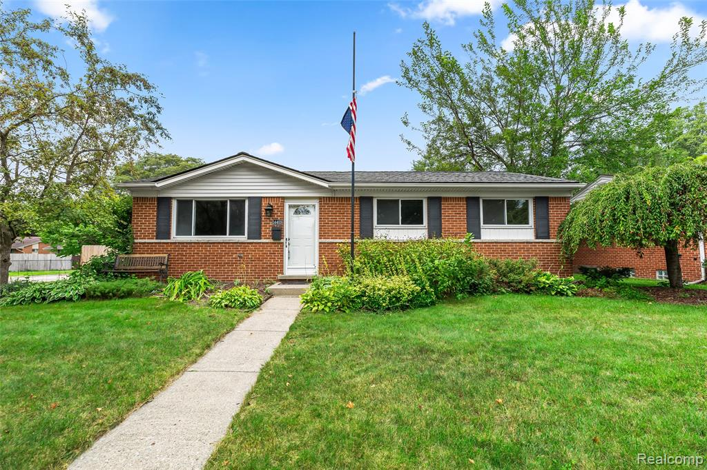 Come Check Out This Tasteful 3 Bedroom, 1 Bath Brick Ranch Located In Livonia On A Large Corner Lot! Hardwood Floors In Bedrooms & Living room! Open Spacious Kitchen Layout With Appliances To Stay! Large Updated Bathroom With  Heated Tile Flooring! Basement Has A Lot Of Room For Storage & Partially Finished.  Egress Window/Bedroom That Can Be Used For 4th Bedroom. Would Be Great Basement For A Full Finished Layout! Most Recent Updates Include: Privacy Fence In the Back Yard, Furnace  (2020), Heated Floor In The Bathroom & Electrical Box (2020). Exterior Is Low Maintenance. Tons Of Privacy With New Wooden Fence That Takes Advance Of The Large Corner Lot.  2 Car Detached Garage! Come Check This One Out Today! It Won't Last Long.