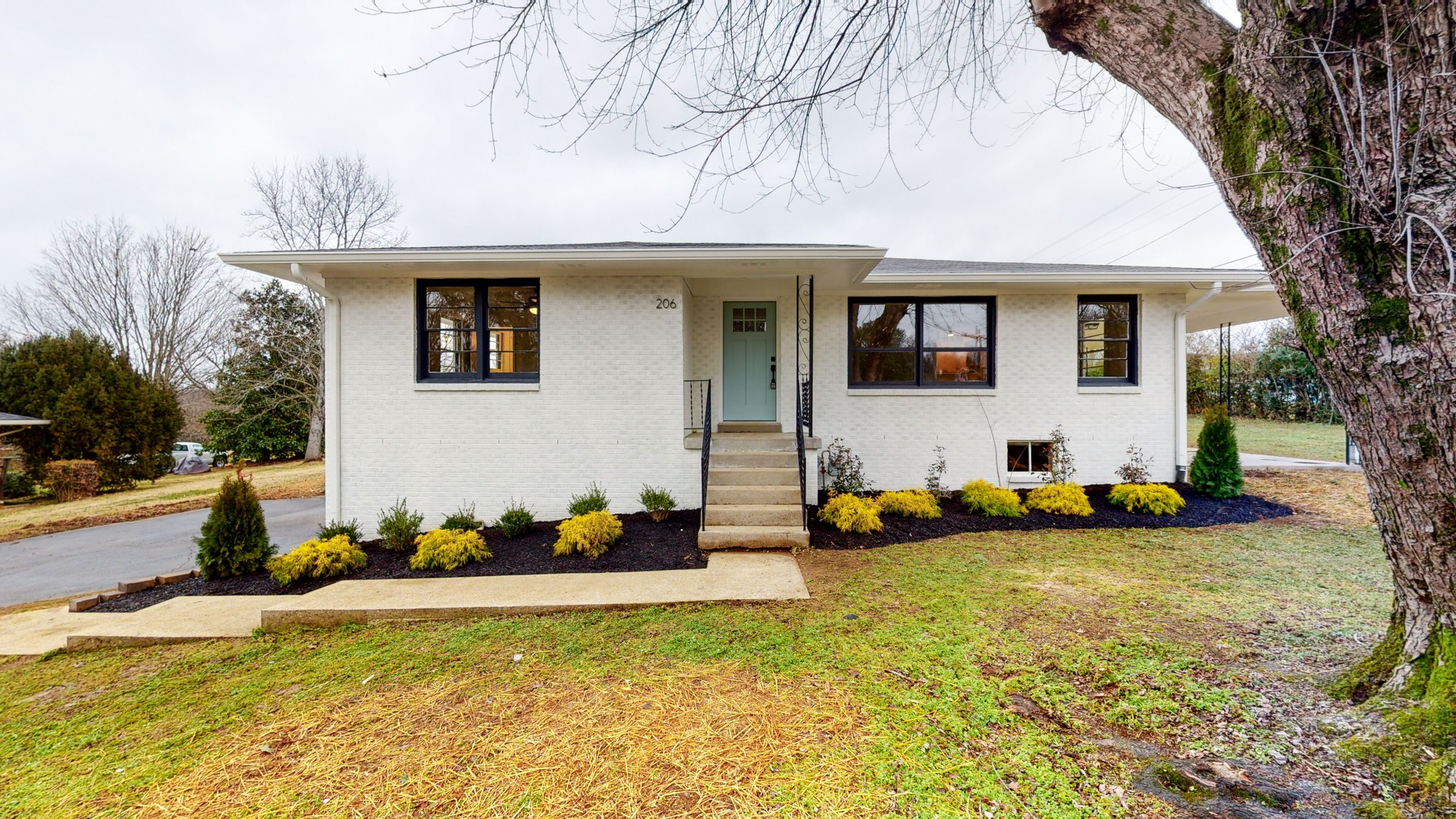 See this updated mid-century home in person! Full (unfinished) basement could easily make additional living, and with a beautiful .78 acre lot in a quiet little pocket of Columbia. Tastefully renovated with all new appliances, flooring, garage doors, bathrooms, lighting, kitchen, and landscaping.