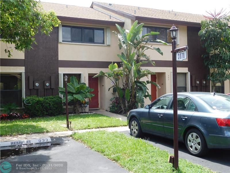 Welcome to Pines West, a secluded, lush, gated, centrally located community that provides easy access to all South Florida has to offer. The semi-open kitchen has plenty of counter space which provides a view straight through the dining and living room areas.  Both bedrooms and the full bathroom are upstairs. The half bath is located on the first floor of the unit. The outside private patio area has a deck that has been recently put in and provides an excellent space for grilling, or for children to play. This property is only minutes from Wilton Manors and pristine beaches, Pines West is the place to be in Oakland Park. Conveniently located minutes from I-95 and the Florida turnpike. Maintenance fees include cable and high-speed internet and reserves.