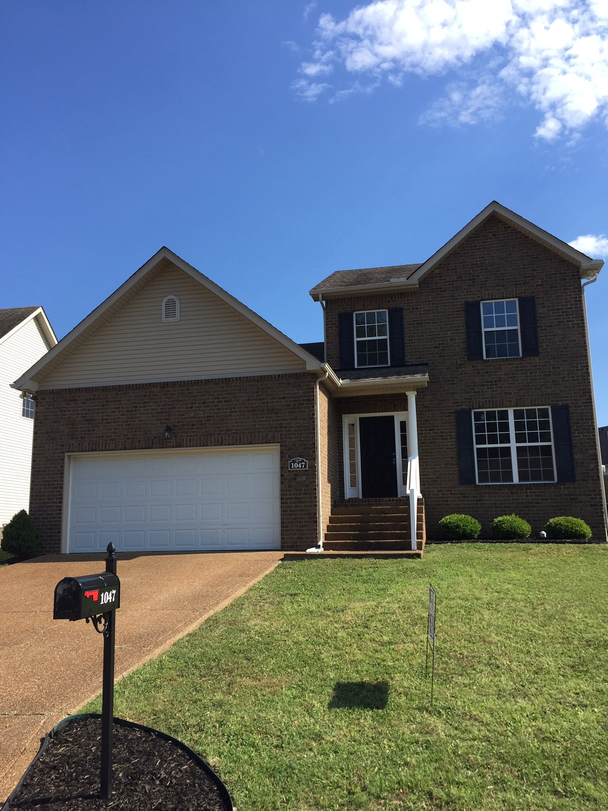 Great opportunity to buy a move-in ready , affordable Spring Hill home. Minutes off Saturn Pky, freshly painted neutral colors. New carpet upstairs. HVAC 6 yrs old, new H2O heater. Huge back yard for the kids, backing up to common area. Show and sell.