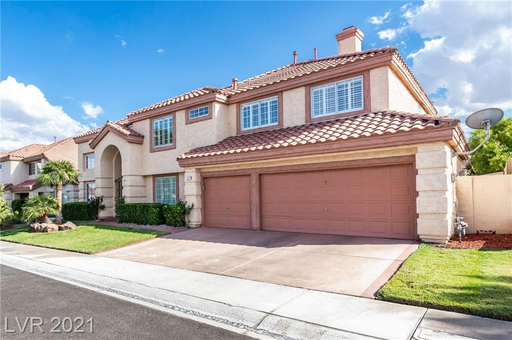 BEAUTIFUL HOME IN DESIRABLE DESERT SHORES. FANTASTIC COMMUNITY WITH ONE OF A KIND AMENITIES AND ACTIVITIES INCLUDING  LAKES, BEACH PLAY AREAS, PRIVATE LAGOON POOL, PADDLE BOARDING, CANOEING, FISHING, BASKETBALL, PLAYGROUND AND MILES OF WALKING AND BIKE PATHS WHICH INCLUDES 5K PATH. SO MUCH TO ENJOY IN THIS NEIGHBORHOOD. THIS HOME OFFERS OVER 3000+ SQUARE FEET OF WIDE OPEN LIVING SPACE. FIVE BEDROOMS AND THREE BATHS. DOWNSTAIRS BEDROOM CAN ALSO DOUBLE AS A DEN OR OFFICE. OPEN FORMAL LIVING/GAME ROOM WITH LARGE BRIGHT WINDOWS AND SEPARATE DINING. BRIGHT UPDATED KITCHEN WITH BIG GARDEN WINDOW. COZY FAMILY ROOM AND MODERNIZED BATHROOM ALL ON MAIN LEVEL. OVERSIZED MASTER BEDROOM AND LARGE MASTER BATH UPSTAIRS. BIG SECONDARY BEDROOMS WITH PLENTY OF SPACE. EXTRA STORAGE UNDERNEATH STAIR CASE. COVERED PATIO, TUFF SHEDS AND FULLY FINISHED, LUSH, GREEN LANDSCAPE WITH FRUIT TREES. 3 CAR GARAGE.  IF YOU ARE LOOKING FOR A BEAUTIFUL HOME IN A ONE OF A KIND COMMUNITY, THIS IS IT.