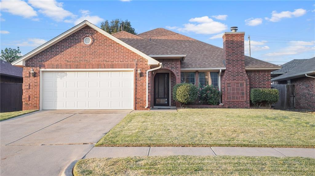 Take a look at this beautiful well kept home that is conveniently located close to shopping complexes, restaurants, and I-35, but still nestled away in a quiet and peaceful neighborhood. This home is a 3 bed, 2 bath, with new flooring throughout most of the home. Large living room that features a built in bookcase along with a wood burning fireplace. The kitchen offers a large amount of storage with a beautiful new set of french doors that lead you to the back covered patio. This home has been well taken care of. Schedule your showing today to see the updates!