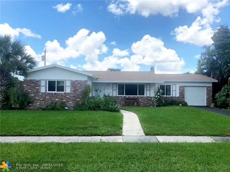 BACK ON THE MARKET with a BRAND-NEW ROOF & BRAND-NEW A/C!  3 bedroom, 2 bath home in the heart of South Coconut Creek. New impact garage door & front door.  Impact windows 2018, updated kitchen & appliances 2016, new water heater 2016, new laminate flooring 2016, new washer / dryer 2016, partially updated master bath & exterior freshly painted. Large formal living, family / Florida room, large, screened patio, oversized 1-car garage. Large fenced in yard. Just a few minutes walk to the newly renovated Windmill Park featuring ball courts, playground, workout stops, walking path, dog parks & more. South Creek is an amazing neighborhood with parks, elementary school, boating, community center and shopping within walking distance or short drive. And best of all - NO HOA!!! Room for boat / rv