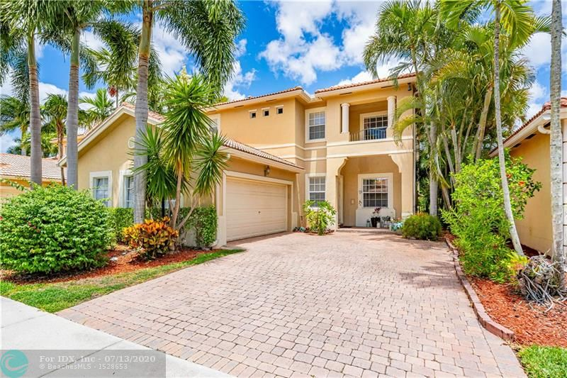 YOUR SEARCH IS OVER! Affordable elegance inside this home in Villa Sorrento, Heron Bay. Zones for Douglas High School, this desirable property is ready for you to start enjoying this summer! This is one of the few homes with a private POOL & SPA in the neighborhood. 3 bedrooms + DEN downstairs and 3 full baths with a 2-car garage & the most private lush yard you would want. It is a must-see! Former Model Home with plenty of upgrades to notice: beautiful kitchen with granite counter tops, tumbled marble backsplash, crown moldings, marble floors, volume ceilings & more. Just painted.  Heron Bay … where you will live in Luxury & Style. Amenities: fitness center, 2 resort style pools, basketball, tennis, ball rooms, library & more. Don't forget about the A schools in the area. Call today.