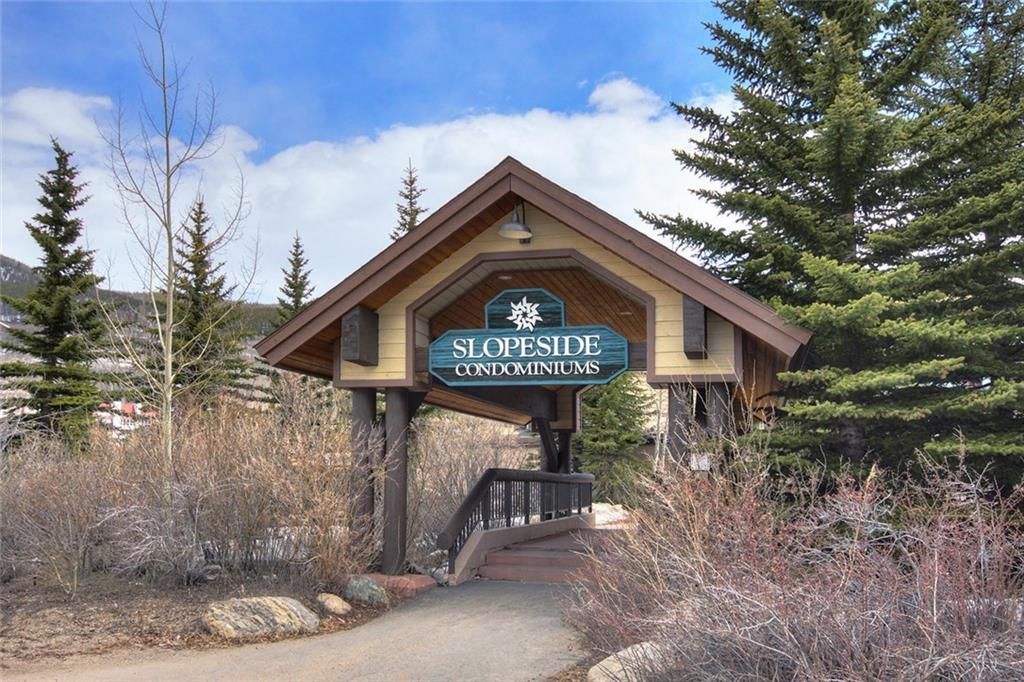 Great opportunity to own at the base of Keystone mountain!  This Slopeside studio is just steps from the Peru lift.  Offered fully furnished.  Enjoy the proximity to ski, hiking trails, biking, fishing and golf.  Soak in the outside hot tubs after a day of skiing or activities.  Amenities include heated garage parking, 2 hot tubs, and fire pit.  Pet friendly for owners.  Building exterior has recently been renovated.  There is onsite laundry, underground parking, a private locker.