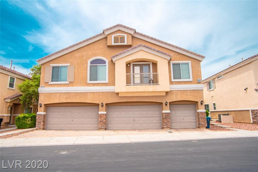 WELL MAINTAINED 2 bed, 3 bath, 2 story townhome w/2 car garage, located in Aliante master plan.  Roomy kitchen w/newer SS appliances and washer/dryer also included. Cozy fireplace in great room. Master has large bath and walk in closet. Beautiful backyard will include the gazebo and patio furniture. MOUNTAIN VIEWS! Gated community w/ beautiful park area and community pool. Walking distance to local parks, schools, shopping, close to hwys.