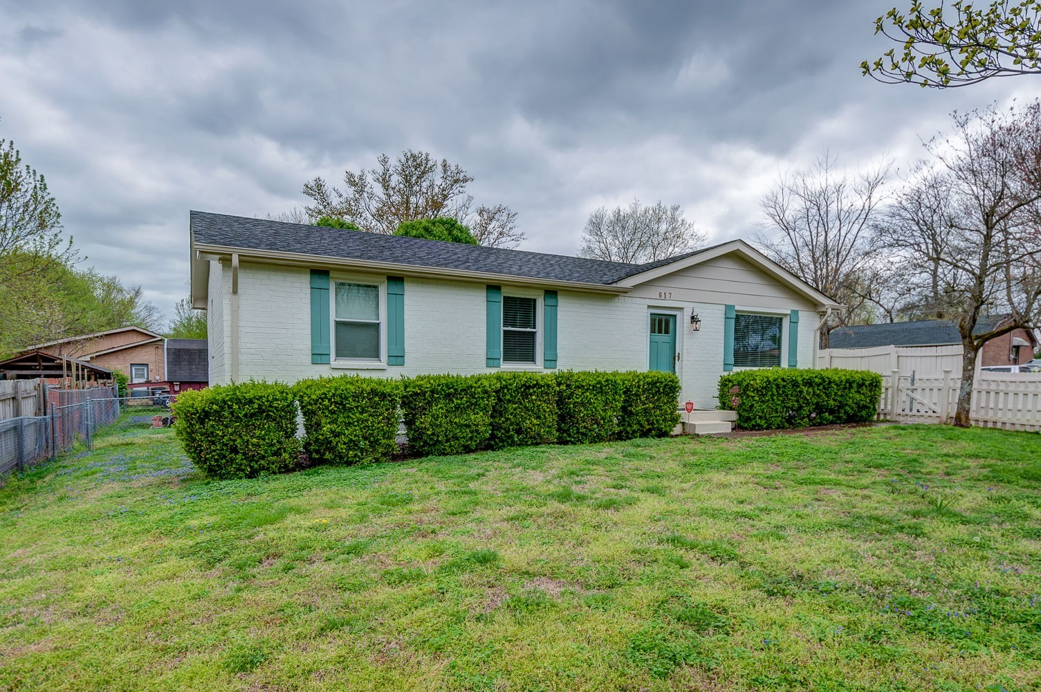 Back to active as Buyers home didn't sell! Adorable gut renovated 3 beds/1 bath cottage, farmhouse finishes, HW floors/tile in wet areas, fenced back yard, nice corner lot, updated electrical and plumbing, 3 year old HVAC! A MUST SEE and easy to show!