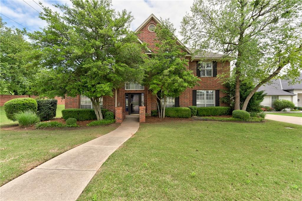 Look at this beautiful One Owner, Custom Built home in the desirable Fairway Estates of Edmond!  It features  4 bedrooms, 2 1/2 baths, 2 living/dining areas.  The  Master Suite is on the first level with sitting area and large Master Bath with a jacuzzi tub, 2 vanities, shower and walk-in closet. The other 3 bedrooms are on the 2nd level with a full bath.  The home also has a Large Club/game room, 3 car garage, Large Treed Back Yard, in Edmond North Schools. The home has New Paint and Carpet throughout the home.  The home also features plantations shutter.  Transferable Home Warranty is provided with this great home.  Hurry---this home is priced to sell quickly.