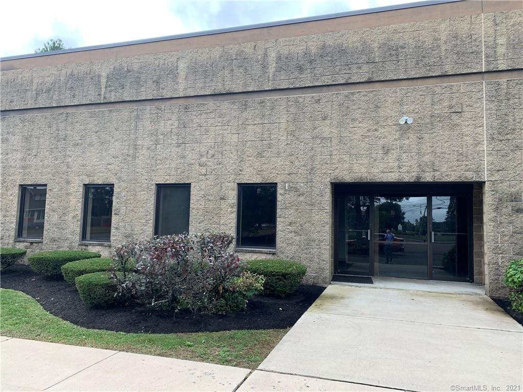 6,000 sq/ft warehouse space with two loading docks and approximately 600 sq/ft of office space which has been recently renovated.  Located in HAZELWOOD INDUSTRIAL COMPLEX located on the corner of route 20 and Hazelwood rd.  Front building, great exposure and signage on route 20, easy access to Bradley Intl Airport and I-91.