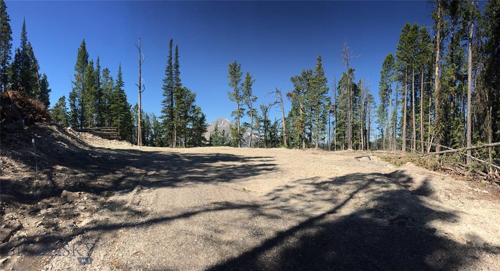 20 + Acres with Outstanding VIEWS! In Beautiful Upper Beehive Basin. Has a well in place and driveway with conduit installed, headed to a fantastic build site to optimize the views of its surrounding beauty! With its abundant wildlife and mature pines, this lot is sure to please. With a beautiful clearing for your Montana home! plus additional clearings for barn or whatever your need. Wildflowers in abundance, all About 10 min from Beehive Basin Trailhead and a few minutes more to Big Sky winter and summer Resort offering all the sun & snow lover could ask for. Zip lining and mountain biking as well as lots of great trails for hiking and The Biggest Skiing in America in winter. Big Sky also offers a state of the art medical facility, fine and casual dining, movie theatre, world class fishing and golfing. Gated & Secured community with very well maintained roads year round. And yes, Those views are Amazing! And you'll have no trouble finding your Christmas Tree here!