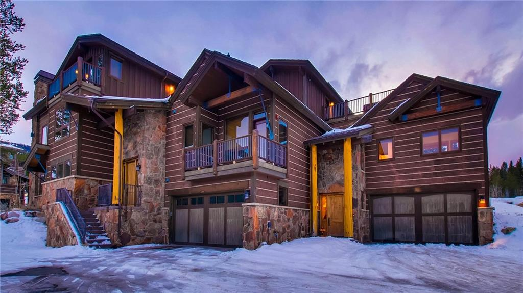 "SKI IN/SKI OUT of this luxury duplex residence located within the gated community of The Lewis Ranch at Copper  Steps from the Lumberjack chairlift. Views of the ski slopes and Ten Mile Mtn. Range ""SKY"" chutes. Features include in floor radiant heating, top floor outdoor hot tub, 2 car garage, multiple outdoor deck spaces, ski equipment room & 2 living areas. Offered furnished. Well established rental history and pre-booked rentals in place."