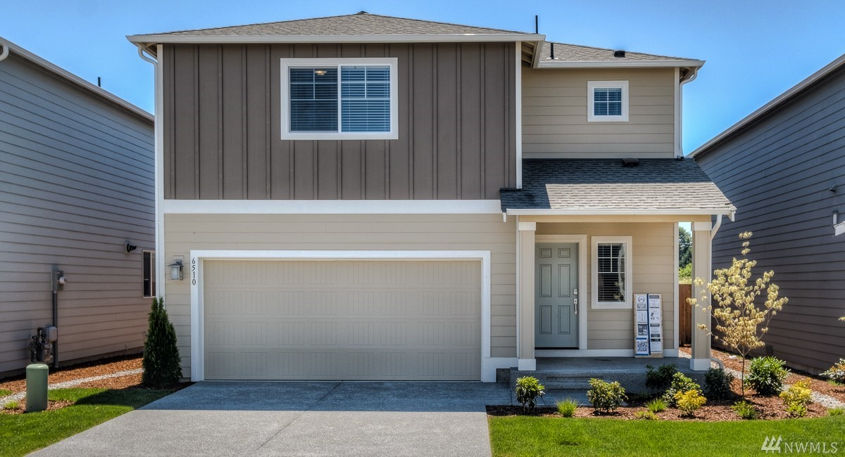 The Zinfandel floorplan at Carrington in Fife, WA by LENNAR. This 2,630 sq.ft 5BD/3Ba  gorgeous home boasts a walk-in pantry off of the open kitchen with luxury finishes. Downstairs bedroom with full bathroom! Upstairs you'll find 3 bedrooms (one with a walk-in closet) plus a master suite, bath and a HUGE walk-in closet.There's even a HUGE loft  that lends itself perfectly to a home office or homework station. Fully fence & landscaped! LENNAR=everything's included! Ask about buyer bonus.