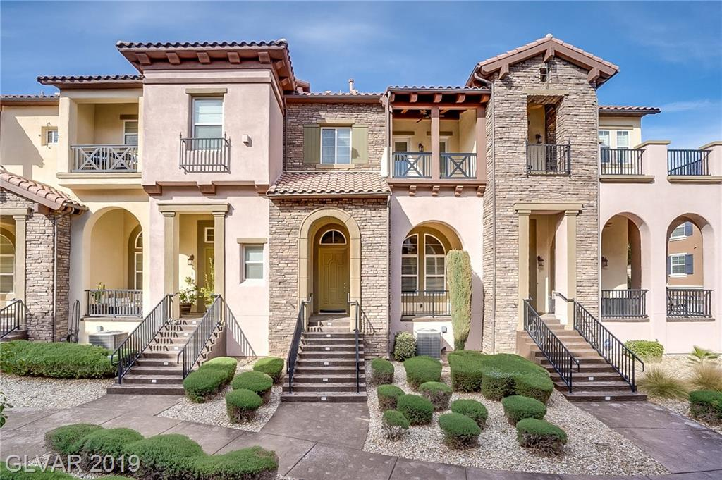 Built in 2007, this Henderson three-story offers a tankless water heater, a fireplace, granite kitchen countertops, and a two-car garage. Gated security and a community pool are part of the Vita Bella. Also take a look at out listing on 3 Corte Vita near by.