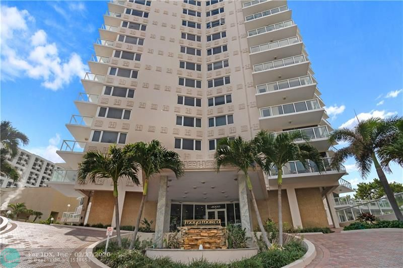 Harbor Beach is one of the most desired locations. Maya Marca is at the south end of Ft. Lauderdale Beach. This unit has amazing panoramic views, Hurricane impact, oversized windows with balcony glass door. Kitchen, master & half bath have been remodeled. Kitchen flooring buckled from water leak. Water remediation done. Listing Price Adjustment HAS ALREADY been made so buyer can make decision regarding flooring. Building has a gym, heated pool, paddleboard dock, putting green & Professionally managed.  Area's lowest PSF condo maintenance fees with fully-funded reserves. Large square footage; feels like a house instead of condo! JUST STEPS to the sand, ocean, hotels. Rec Room/Lobby renovations approved with no special assessment! 30 DAY RIGHT OF FIRST REFUSAL, OWN 2 YEARS TO RENT.