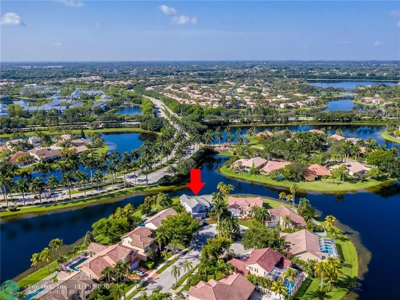 WOW! SITUATED ON A PREMIUM, PRIVATE CUL-DE-SAC LOT WITH DOUBLE WATERVIEWS! SUBERLY MAINTAINED BY ORIGINAL OWNER, THIS 4 BEDROOM/3BATH POOL HOME WITH WATERVIEWS FROM ALMOST EVERY WINDOW, IS SURE TO PLEASE. ACCORDION SHUTTERS, ROOFED REPLACED 2007, A/C 2018 WITH 10 YEAR WARRANTY, OVEN/RANGE 2019, REFRIGERATOR 2016, EXTERIOR/INTERIOR TO INCLUDE CEILINGS PAINTED 2016. BEAUTIFUL OVERSIZED OPEN POOL/PATIO AREA IS GREAT FOR ENTERTAINING.30X15 POOL, KEYSTONE MARBLE DECK(HEAT RESISTANT) AUTO CLEANER & RAISED SPA INSTALLED 2016 WITH 5/10 WARRANTY STILL IN EFFECT. HUGE OPEN MAIN LIVING AREA, SEPARATE DINING ROOM, FRENCH DOORS, MASTER ON GROUND FLOOR WITH ACCESS TO POOL. TILE FLOORS IN KITCHEN & FAMILY ROOM. (4TH BEDROOM IS OPEN LOFT WITH FULL CLOSET AND CURRENTLY USED AS AN OFFICE) HURRY TO THIS ONE!