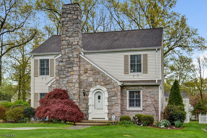 This spacious center hall Colonial w/many recent upgrades, rests on nearly a quarter acre of nicely landscaped property located in desirable Deerfield neighborhood. Inside, the LR fireplace brings warmth to any occasion while formal DR is poised to host your next dinner party. For the busy home cook, the kitchen includes a center island, plenty of cabinet & counter space & a separate breakfast area. The large FR w/fireplace & powder room complete the 1st floor. Upstairs, you'll find the huge master suite w/private bath & WIC, three more BR's & a hallway bath. This wonderful home also features a lower level recreation & storage rooms, HWD floors throughout, 2-zone heat & air, new privacy fence, newer blue stone walkway & patio, whole house generator & much more! Convenient to NYC train & top rated schools.