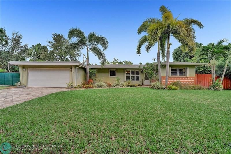 Don't miss out on this great opportunity to own a stunning 3 bedroom, 2 bath home in Plantation. Close to all major highways and located in the beautiful plantation gardens neighborhood. This property features a brand new ac unit, new roof, beautiful terrazzo floors, newly renovated bathroom, lush landscaping and fruit trees. This home will not last..call today to schedule a showing.