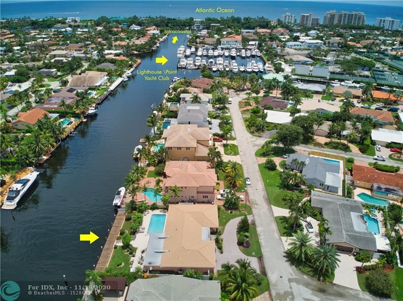 Single Family for sale in Lighthouse Point, Florida, F10187944