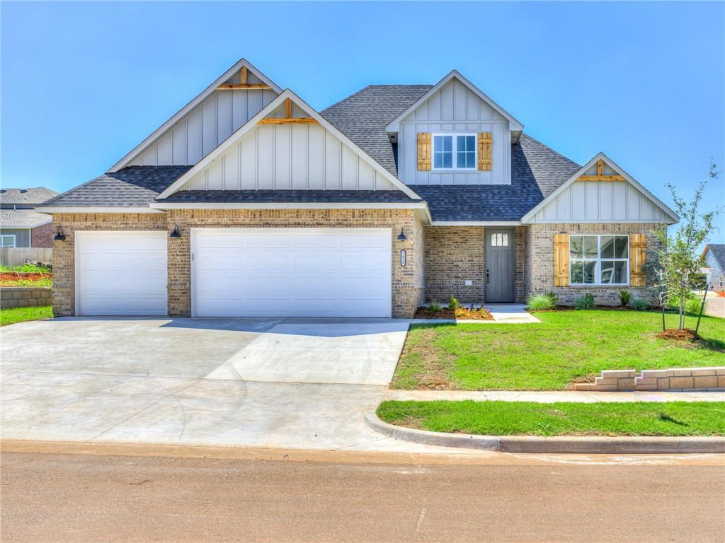 Deer Creek Schools! Check out this new build, on a fabulous corner lot, in Rockwell Park. Don't wait to snag this completed home. The beautiful 4 bedroom, 2.5 bath home features a large bonus room on the second level (1/2 bath is located up there as well), a legitimate 4th bedroom that could easily be used as an office, a high efficiency HVAC system, quartz counter counter tops, full gutters, garage door openers, and front/back yard sprinklers. The flow of the house is marvelous, with the kitchen/living/dining being mostly open, split bedrooms, and plenty of room for guest/kids.
