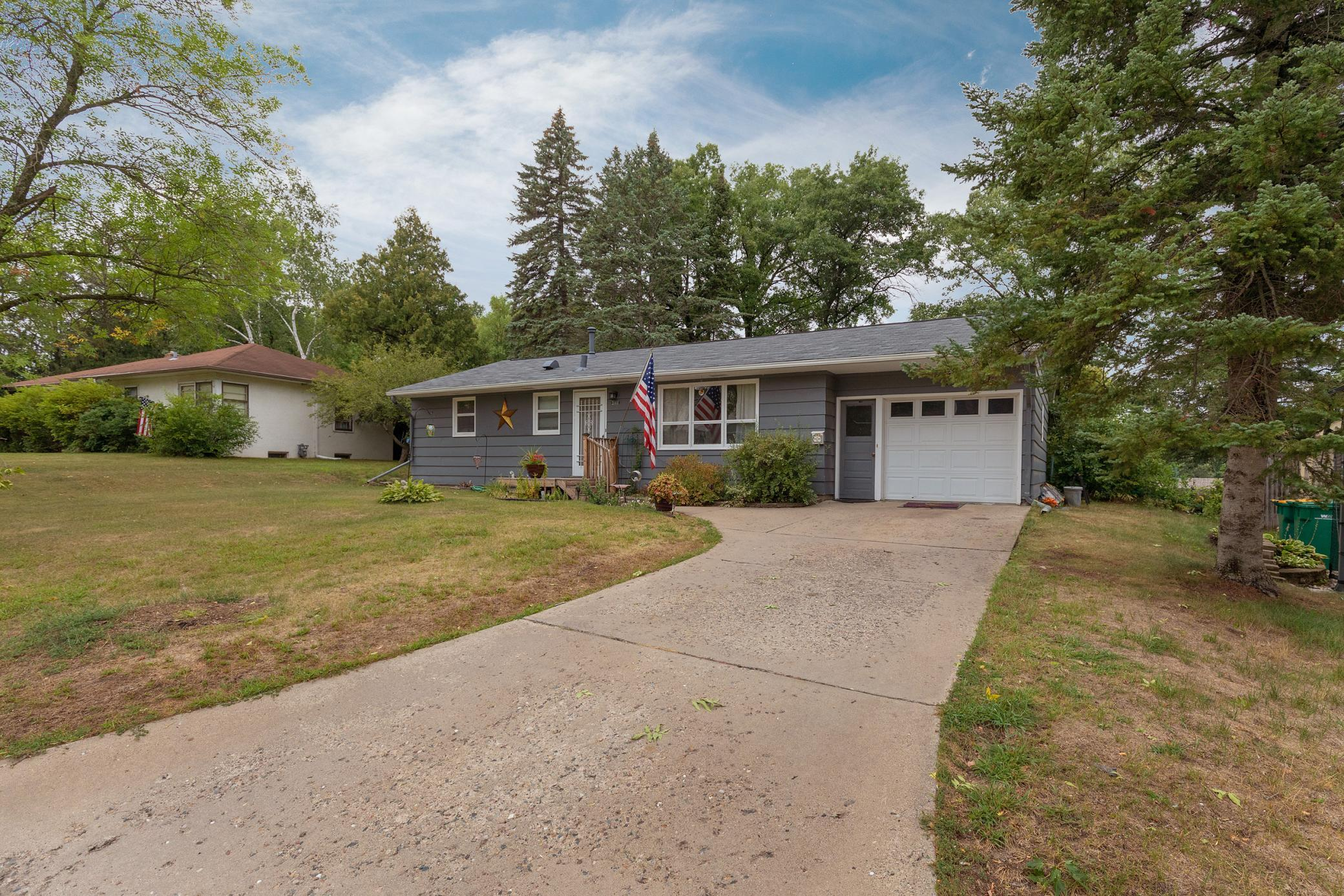 Welcome to this cute 3 bed, 2 bath rambler with a fenced in back yard.  The unfinished basement gives lots of potential for added living space.  Come see it today.
