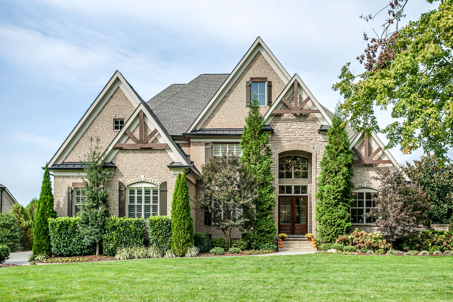 """Simply stunning in the """"Manor"""" at Morgan Farms.  This Control4 """"smart home"""" is casually elegant w/coffered ceilings, lux kitchen w/double ovens, sub zero fridge & 2 islands overlooking gorgeous keeping room w/stack stone fireplace, built ins & vaulted beamed ceiling.  Gracious master suite w/soaking tub & walk thru shower.   Host game day in huge media rm w/wet bar, projector & 120"""" screen or in the Amazing outdoor living spaces complete w/grill island, HUGE patio & fireplace."""
