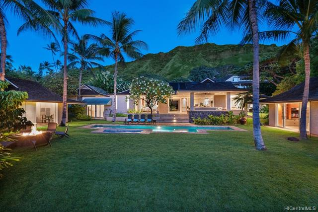 Luxurious island estate property at the base of Diamond Head on exclusive Noela Drive. Gorgeous views of Waikiki skyline. Magnificent landscaped grounds are the backdrop to this custom, single level home designed by Dan Moran. Dramatic entry with koi pond and waterfall, walls of glass pocket seamlessly to mesh the interior with the sumptuous grounds. Pool, spa, fire pit, separate guest suite. Media room and temperature controlled wine room. An elegant private oasis just above Kapiolani Park and the ocean. Look for video icon under MLS Photo.