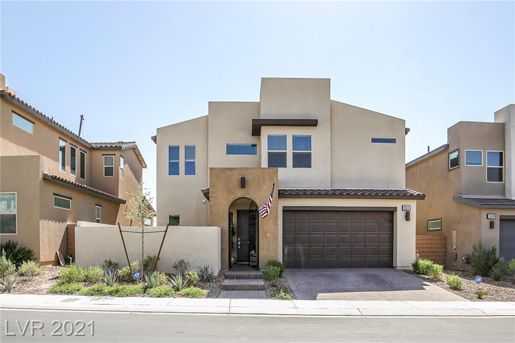 Modern home in highly-desired community of inspirada in Henderson. This home has large open floorplan, courtyard entry and many upgrades features. 3 bed 2.5 bathroom. The kitchen has granite countertops and stainless steal appliances. This home has modern finish throughout. The primary suite has large bathroom and walk in closet, beautifully designed shower.