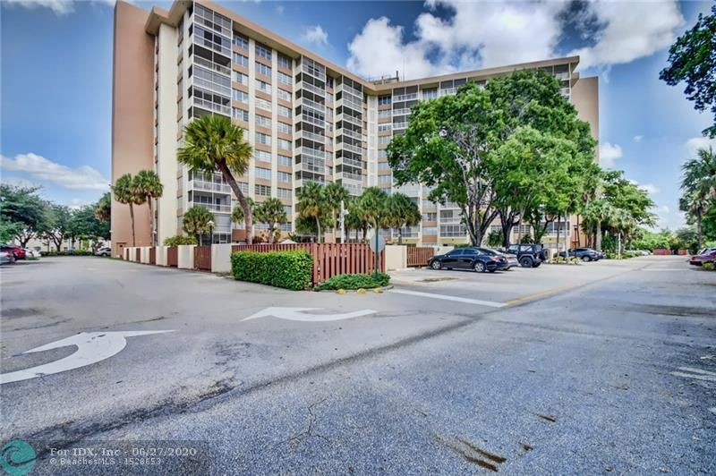 You'll feel like you're on vacation everyday as you walk into the lobby of this 24 hour secured building to be greeted by the front desk attendant. Head up to the 7th floor in 1 of 3 elevators to enjoy your spacious, move-in ready condo. Take advantage of the abundant amenities in this 55+ community, such as the heated pool, tennis courts, gym or community room with kitchen. Association fee includes water, basic cable, pest control & more. Great location in the heart of Coral Springs with expansive views from your screened balcony & access to shops, restaurants, bus & more. Building also features large, clean laundry rooms on each floor & your own storage unit. Building commended by city for safety during COVID. Association requires 10% down & $43,590.39 income. No pets. 3D tour available.