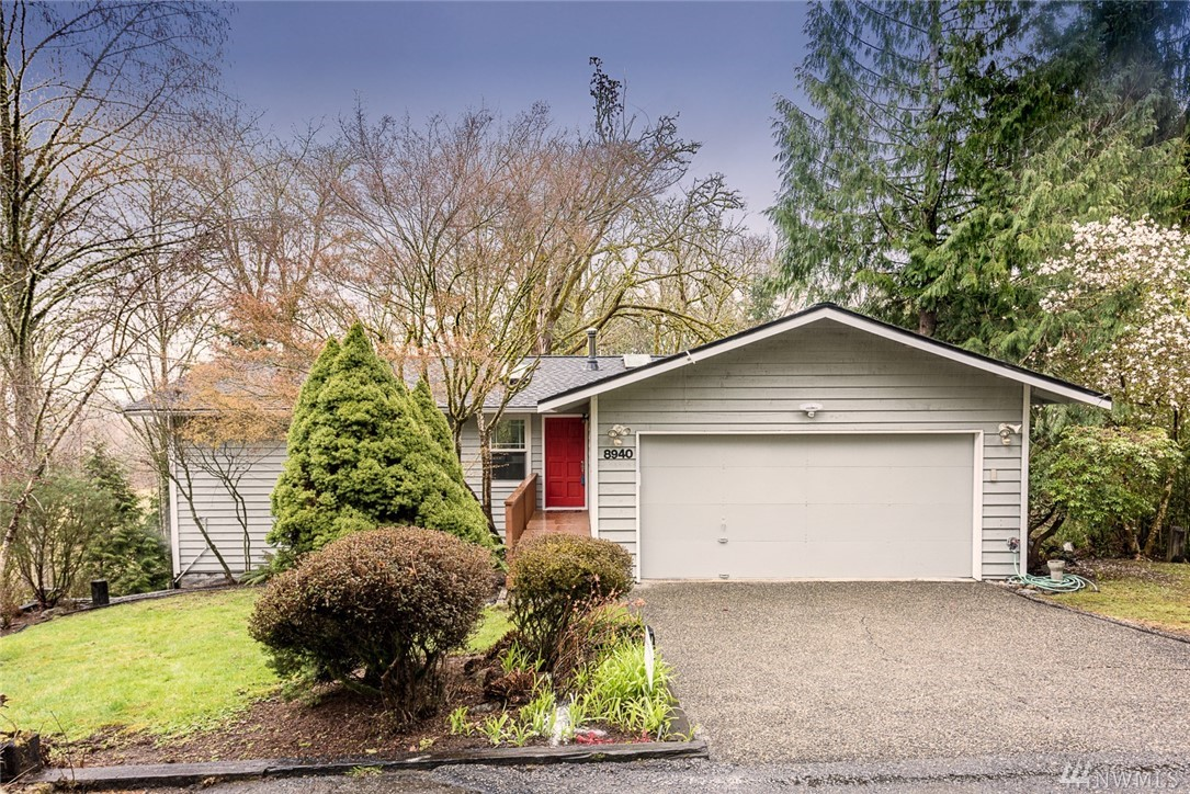 A truly remarkable property in the heart of Rose Hill - 1.6 Acres of seclusion & walk-able to DT Redmond & Kirkland! 5 Bed + Bonus or 6th Bedroom. Newer roof, ext. paint, windows, decking, furnace & WH. Brand new flooring, int. Paint, lighting & bathrooms. All that this charming craftsman needs is for you to design your own dream kitchen, everything else is done! Deck overlooks nature conservancy on two sides, park w/ playground & basketball across the driveway. Min. to 405 / 520, Google & MSFT.