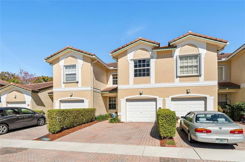 This 3 bed, 2.5 bath townhome is located in the gated community of Pelican Point in Wyndham Lakes East. The home has been impeccably maintained by the same owner for 19 years. The lower level has crown molding and is freshly painted. Spacious master bedroom with tray ceiling and walk in closet. Samsung appliances, Whirlpool washer and dryer, LED lights, ceiling fans and security system. Extended screened in patio with a lovely back yard with no one behind the unit. 1 car garage with lot's of shelving for storage. A/C replaced December 2017 with 17 seer Trane unit which is very efficient producing low FPL bills. Easy access to Sawgrass Expressway, top rated schools, restaurants and shops. Easy to show.