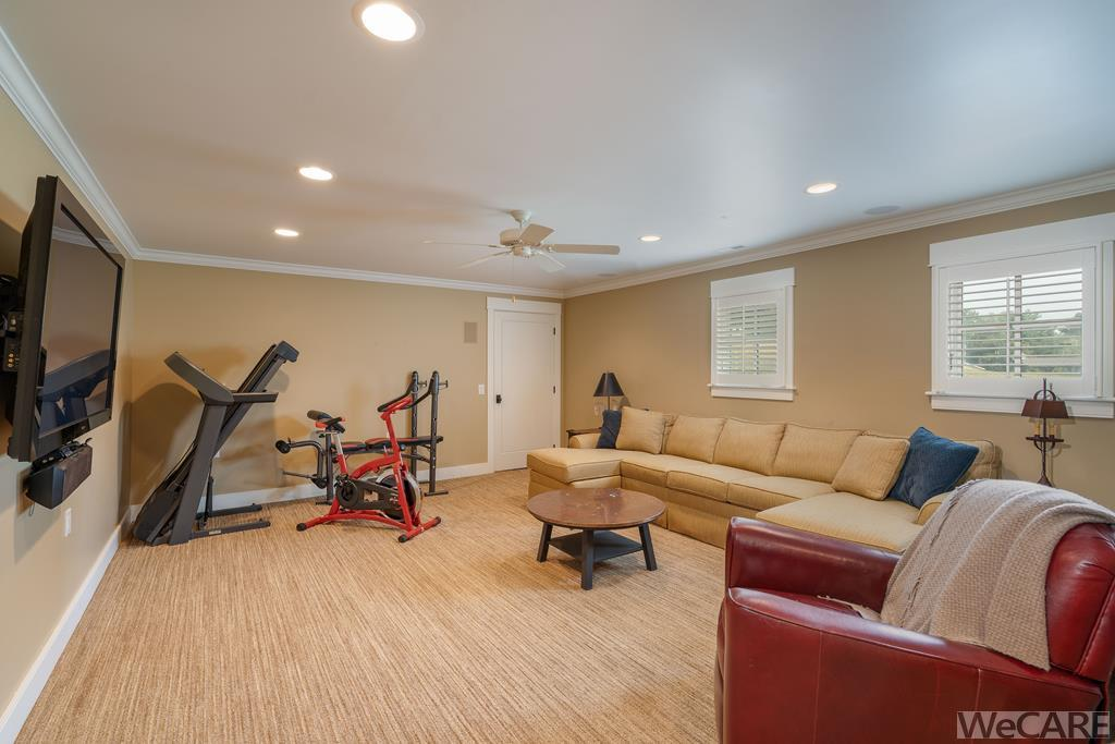 Rec room/family room - Could also be a great home