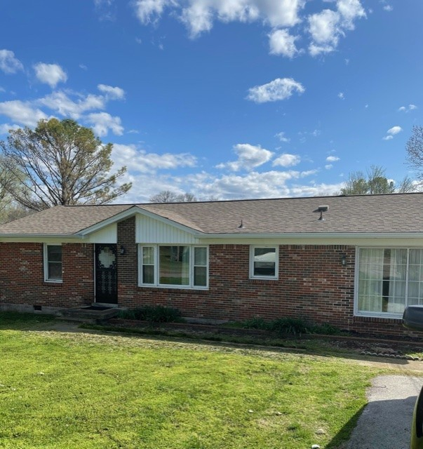 All Brick Ranch Style Home! Home offers a Eat-in Kitchen, Large Bonus Room, a Formal Dining which could be a 3rd Bedroom or Office. Hardwood Floors in most areas. Nice spacious backyard with covered porch. This property has a lot of potential. It could be converted into a 3 or 4 Bedroom. Must See!