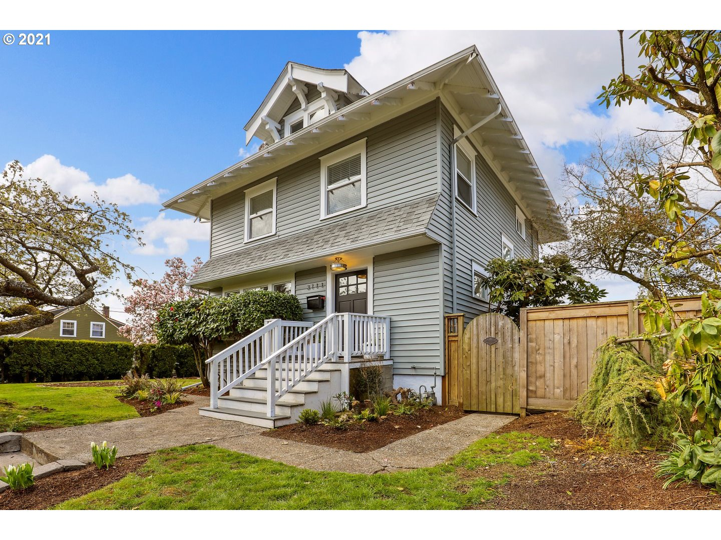 Beautifully remodeled craftsman in desirable NE Location. High ceilings lend a bright and open feel to the spacious living and dining rooms. The kitchen is a cook's dream with stainless steel gas appliances, gorgeous wood counters and a slab granite island. Lower level suite has potential for multi-generational living, nanny or income suite, with a full kitchen, bath, and laundry. Huge yard is perfect for entertaining and gardening in the raised beds. This home is a rare gem!