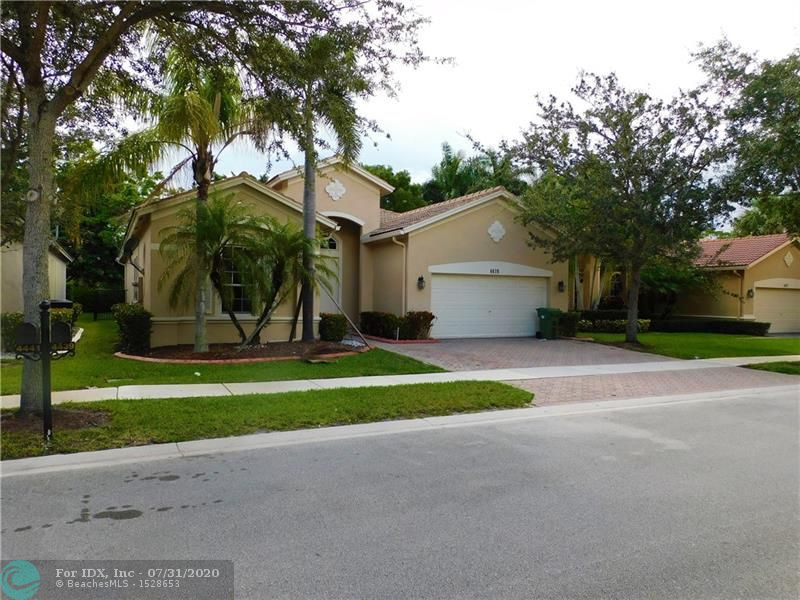 GREAT ONE STORY 4 BEDROOMS 3 BATHROOMS TRIPLE SPLIT HOME IN THE EXCLUSIVE GUARD GATED COMMUNITY OF ISLES OF WESTON. TILE FLOORING IN MAIN LIVING AREAS AND WOOD FLOORING IN ALL BEDROOMS., IMPACT WINDOWS AND DOORS, NEWER HIGH EFFICIENCY A/C UNIT, (LOW ELECTRIC BILL) BEAUTIFUL GOURMET KITCHEN WITH STAINLESS STEEL APPLIANCES AND GRANITE COUNTER TOPS WOOD CABINETS, FENCE IN YARD. DON'T MISS THIS OPPORTUNITY TO OWN THIS EXCLUSIVE HOME IN THE SOUGHT AFTER ISLES AT WESTON WITH RESORT STYLE AMENITIES TO INCLUDE GYM, POOL, CLUBHOUSE, TENNIS AND MORE. WALK TO BEST RATED A+ SCHOOLS IN WESTON. CLOSE TO RESTAURANTS SHOPPING AND HIGHWAYS, JUST ABOUT 20 MINUTES AWAY FROM BEACH.