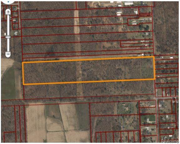 Sellers willing to entertain reasonable offers. Almost 27 Acres Zoned Residential with possible re-zone for lot splits or site condos. Must provide detailed drawings to the City of Romulus for approval. Water and sewer available at the road. We do have a site plan where another company was planning on putting in a subdivision for your review. There is also potential to purchase another 14 acres. All Data and measurements deemed to be reliable but not guaranteed.
