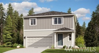 The Merlot floorplan  at Carrington in Fife, WA  by LENNAR. World's first WI-Fi Certified Home Design. This 2,120 sq.ft 4BD/2.5Ba  gorgeous home boasts a walk-in pantry off of the open kitchen with luxury finishes. Upstairs you'll find three bedrooms (one with a walk-in closet) plus a master suite, bath and a HUGE walk-in closet.There's even a loft at the top of the stairs which is perfect for home office or game room. Fully fence & landscaped! LENNAR=everything's included!