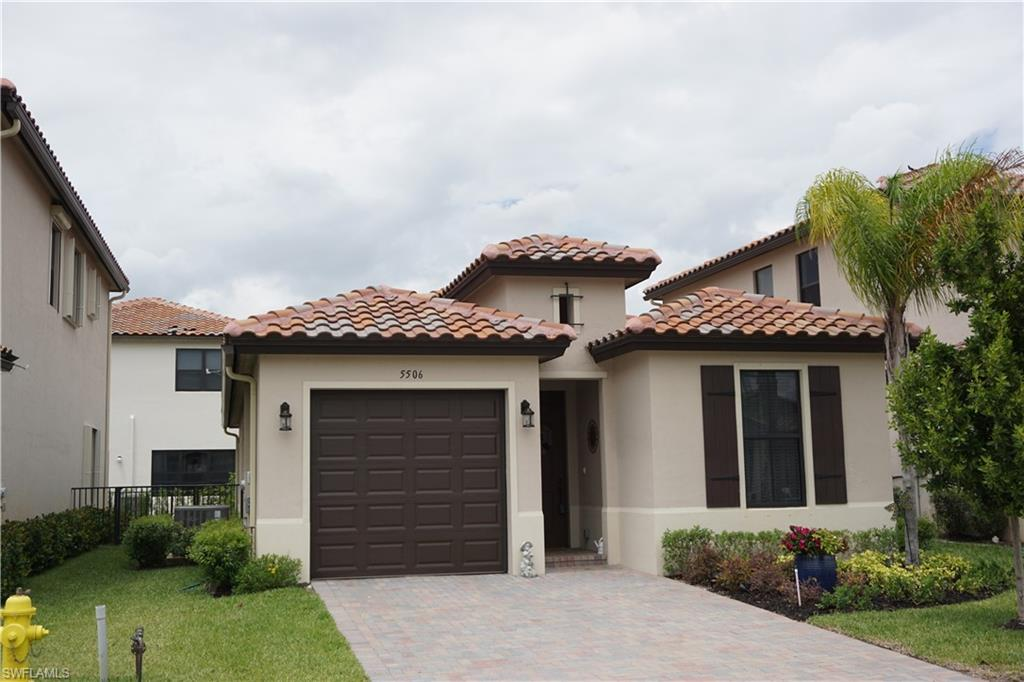 Best value home in Ave Maria- This Coquina At Maple Ridge, Fernwood model has over $40k in 'UPGRADES'. Tile throughout all living areas, carpet in bedrooms, Stainless Steel Appliances, Granite counter tops throughout, crown moldings, 8 foot doors, decorative walls behind Living Room TV & Master Bedroom Bed. Upgraded Fans & Lighting Throughout. Make sure to come see this beautiful home before its gone. It has way too many extras to mention here. Make your appointment Today.