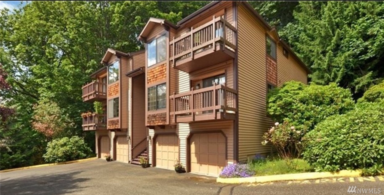 Pride of Ownership shows in this stylish Avondale Crest Condo. It features 2 large bedrooms w/ views of lush forest, 2-full bathrooms, spacious living room, fireplace, private balcony, washer & dryer, fresh paint, 1-car garage plus 1 additional outdoor parking space, and generous storage room. Highly sought-after Redmond Condo located in a secluded quiet neighborhood. Award-Winning Lake Washington schools, close to Microsoft, shopping, restaurants, freeway, parks & hiking trails.
