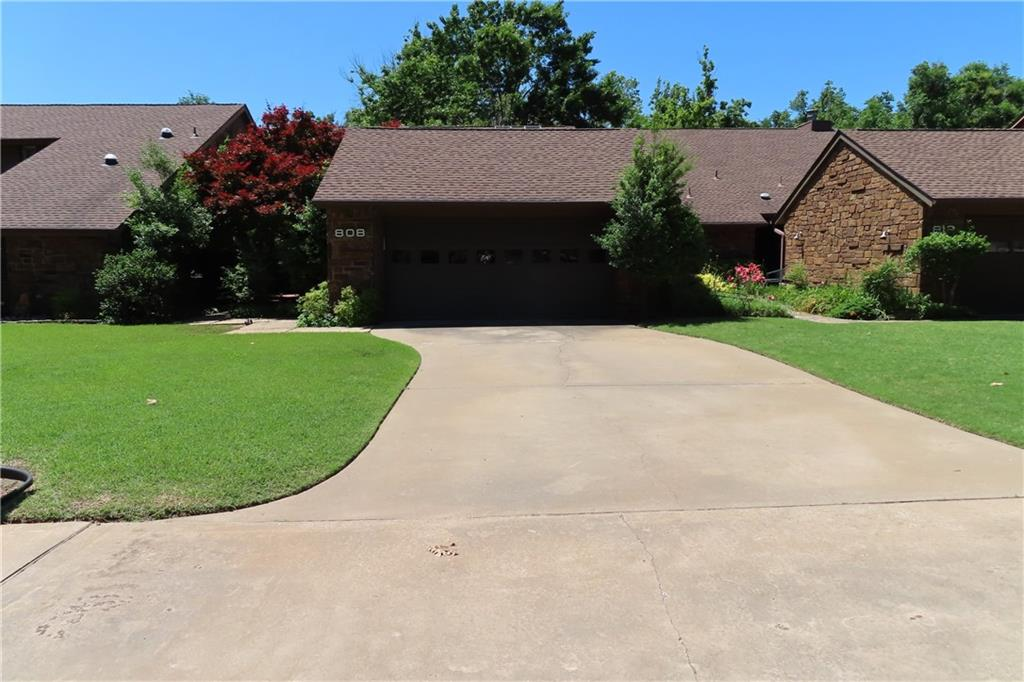 WOW What a find, just across the street from OU, a short walk to the Law school.  This 3/2/2 with 2 dining and 2 living,  is perfect for anyone wanting to be close to OU. Heat & air replaced 2020, carpet and floors in the living also just replaced. Paint was updated in 2017. Wood floors in the beds downstairs and in the dining, beautiful tile was put in in the living. In the primary bed it has 2massive walk-in closets and sep tub and shower. 2 other beds also have large walk in closets. Wood blinds and decks on the front and back adorn this beautiful setting.  Park in the back with Pool, garden patio and cabana are some of the amenities that come with the townhome. Water heater is tankless replaced in 2020  disposal less than 2 years old. Wood privacy fence encloses all the common area in the back and the grounds are amazing with lots of shade from mature trees gives this property a serene peaceful place to call your own.