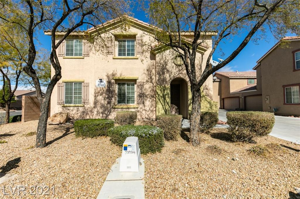 This adorable, cozy, 3 bed, 3 bath home is located in the desirable Southwest only minutes away from the 215 and has been well maintained.  All bedrooms upstairs with loft, upstairs laundry.  Quaint backyard.  Primary bath with garden tub & separate shower, large walk in closet. Beautiful & Move-in ready! LOW HOA