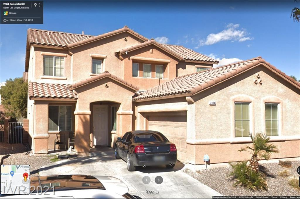 4 Bedrooms with 3 Bathrooms! 1 Bedrooms Downstairs! OPEN FLOORPLAN! Great area of North Las Vegas. Walk to the park. Walk to lots of Shopping! Short Drive to Aliante Hotel & Casino. Great Backyard!