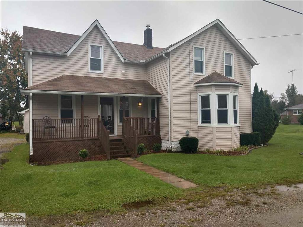 Kimball Twp! This 2 Story Home Features 4 Bedrooms, 2 Full Baths With Laundry On The 2nd Floor. Bonus Room Upstairs For Endless Possibilities. Michigan Basement & 2 Car Detached Garage. Appliances Remain. Please note: audio and/or video may be in use.