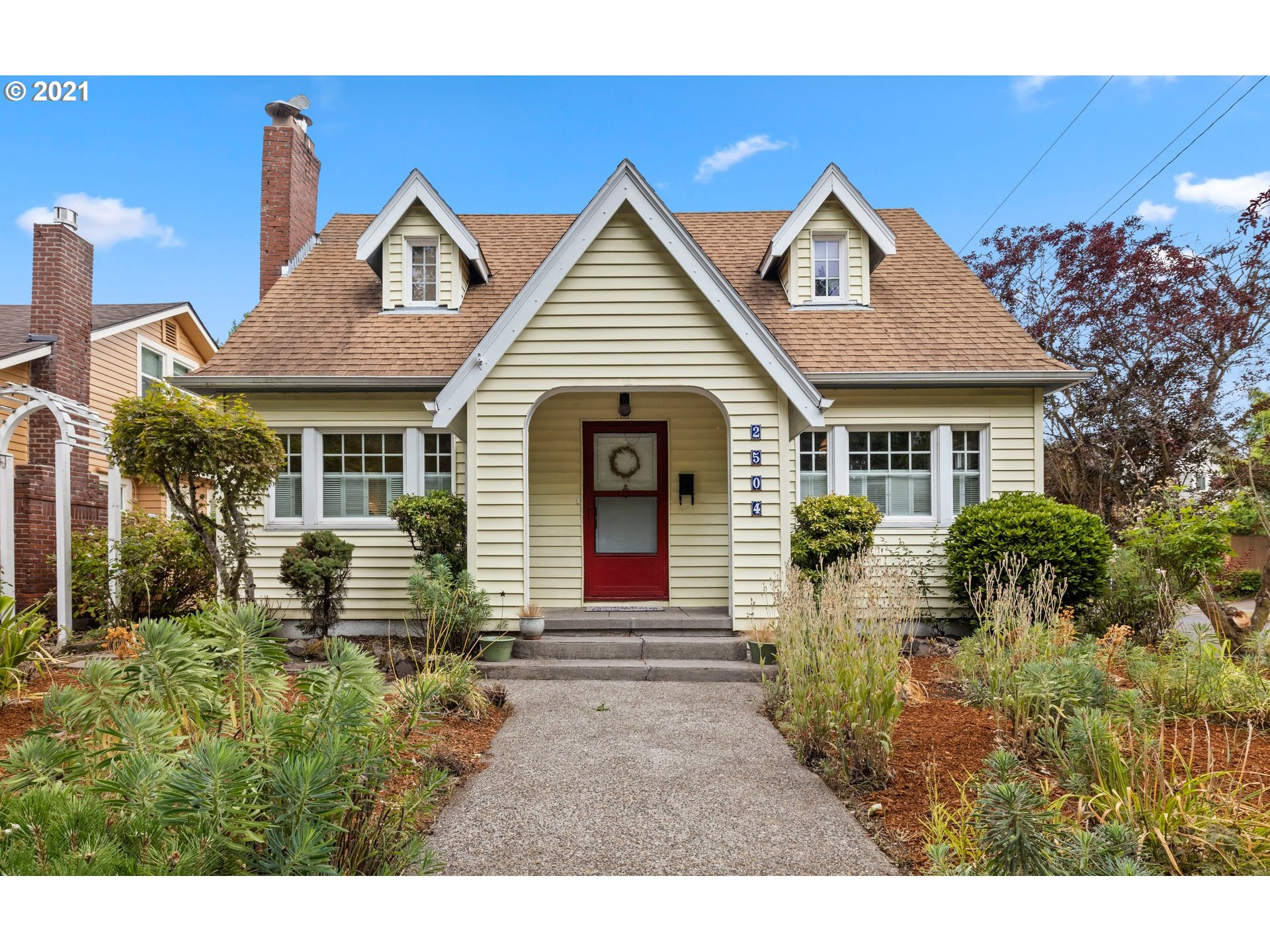 Vintage Cape Cod charmer in Premier location facing Grant Park. A walkers and bikers paradise close to the trendiest East-Side establishments. Home is in great shape and just needs a little vision to make it shine again. This amazing neighborhood will support all your improvements to add equity and build value. Original charm throughout with room to grow in the partially finished basement (possible ADU?) & spacious attic space with bonus room. Large corner lot with rare oversized 2 car garage!