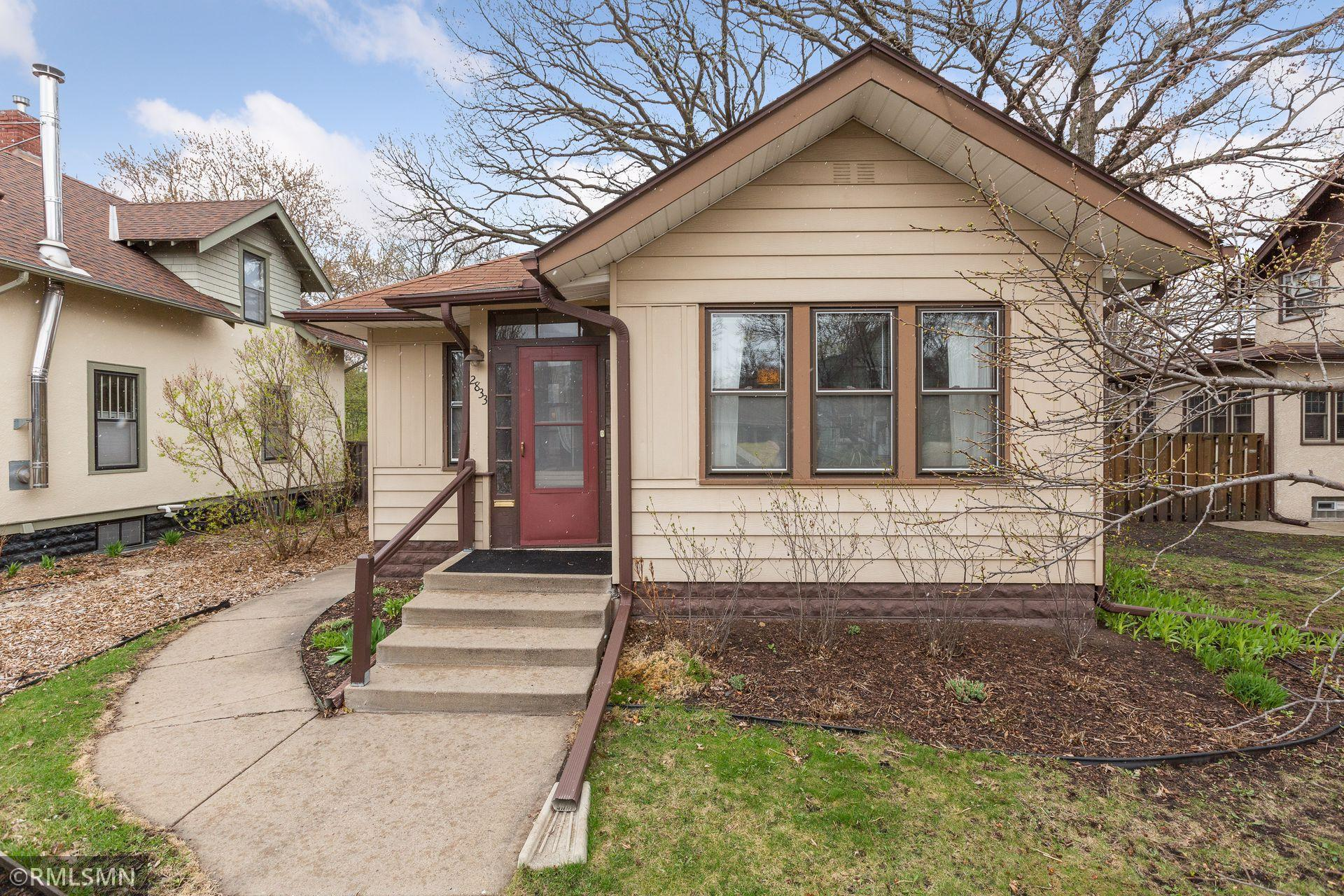 *** Highest & Best due Sat, April 16 at 8pm***  Call this charming one-story, Cooper neighborhood home YOURS! Beautiful woodwork and original floors shine and give this home its character. The updated kitchen and partially finished basement brings it into this century. Basement space is versatile and has been used as a home office, music room, weight room and could also be a third bedroom space. The recently added basement bathroom includes a shower and heated floors. New HE furnace with NEST thermostat installed 2020.  Coming soon to the yard: asparagus patch, hydrangeas and peonies. This lovely home is centrally located in a quiet part of the city, while keeping you close to downtown Minneapolis, St. Paul, the Mississippi River. Enjoy local establishments such as The Birchwood, Sonora Grill, Hi-Lo Diner, Dogwood Coffee and so much more.