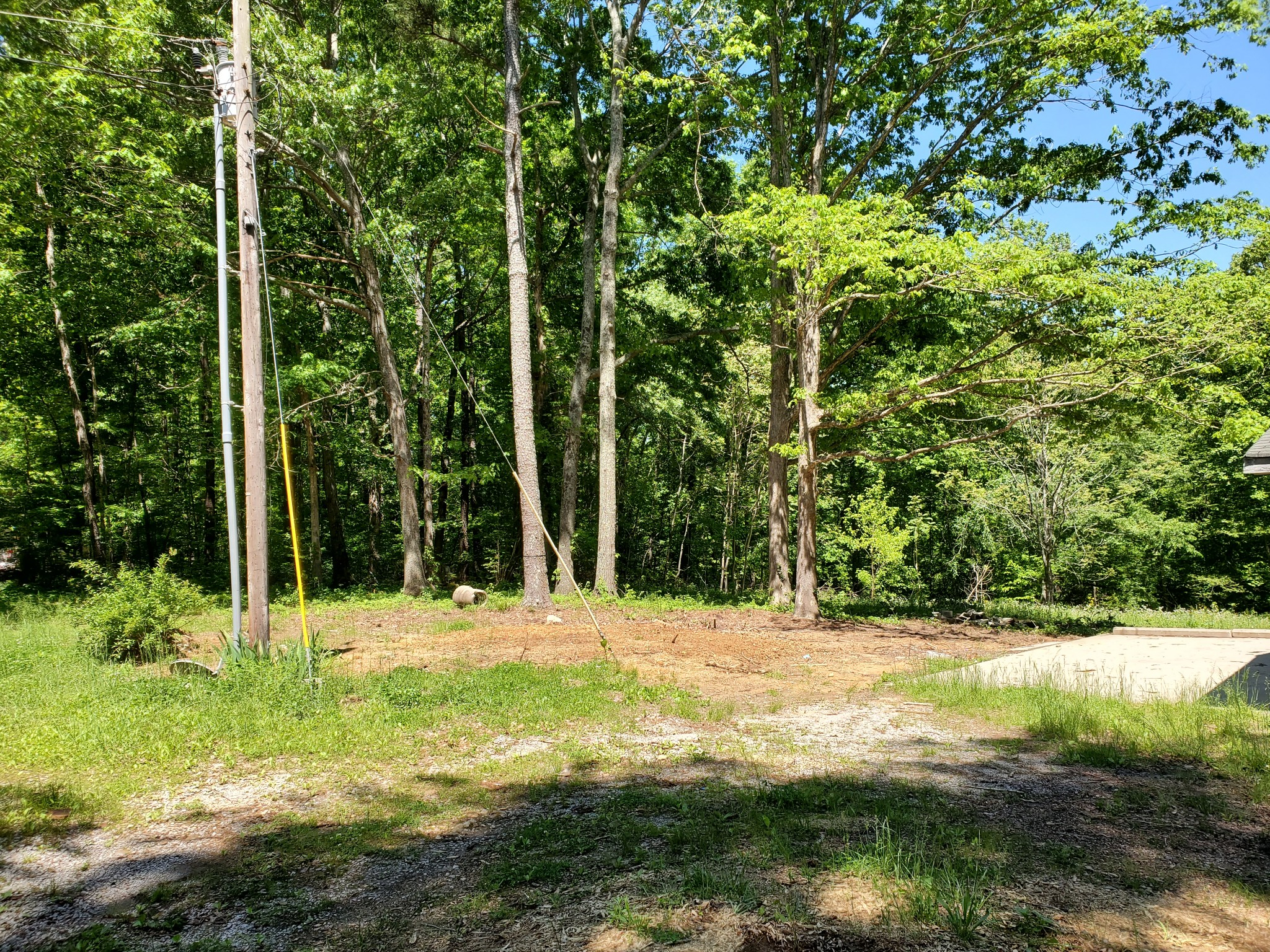 Great location near downtown Leipers Fork and just minutes off the Natchez Trace, 2.1 acre lot with house that needs a total remodel, new under ground electrical service just installed. Septic in place, well water, city water at road. Large lot with mature trees. Large storage building included.