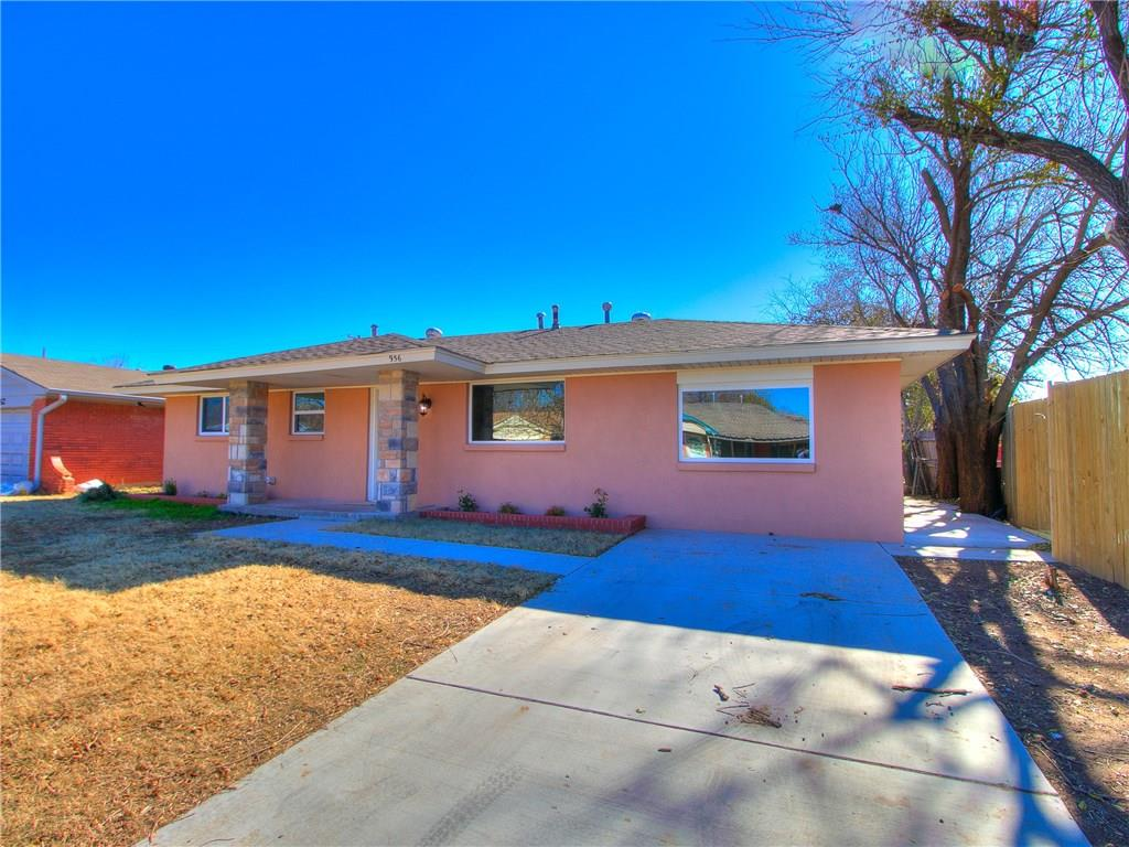 MOVE-IN READY & COMPLETELY REMODELED!  New windows, tile, carpet, light fixtures, paint, hot water tank and much more!  The garage has been converted to allow for a beautiful open floor plan. Spacious living area, open dining space, and kitchen even comes with a brand new stainless steel refrigerator! Three great-sized bedrooms and one full bath completes the interior. Enjoy the serenity of the neighborhood in an oversized back yard. Conveniently located near Moore Schools, shopping, entertainment, and highways! Set up a private showing TODAY!